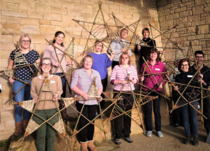 Christmas Stars workshop group