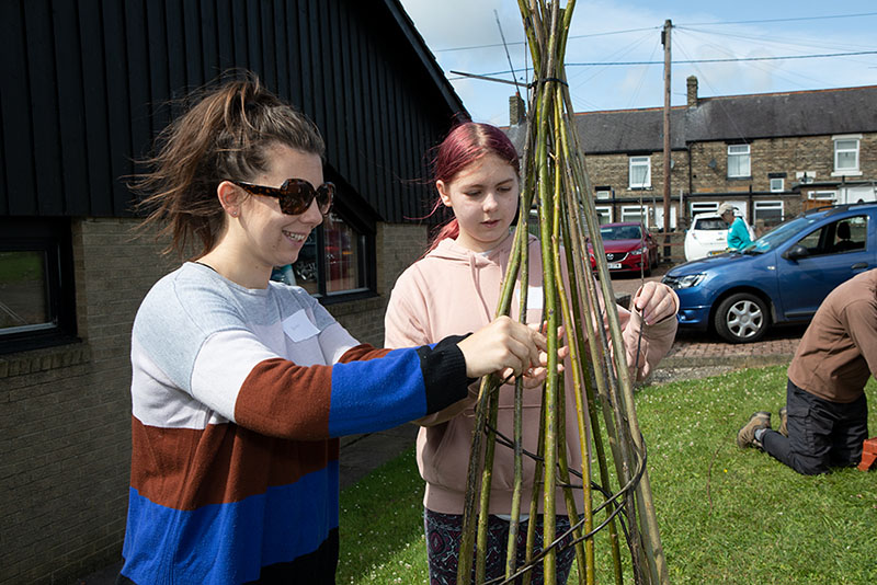 willow weaving workshops